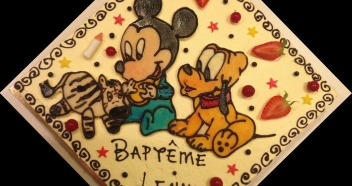 Mickey et Pluto